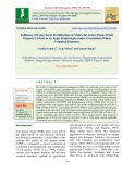 Influence of long term fertilization on yield and active pools of soil organic carbon in an typic haplustepts under groundnut-wheat cropping sequence