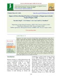 Impact of straw burning practices on economics of sugarcane in South Gujarat Region, India