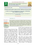 Production and economic analysis of oyster mushroom (Pleurotus florida)