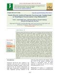Genetic diversity analysis of sugarcane (Saccharum spp. Complex) based on morphological characterization using Mahalanobis D2