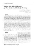 Nghiên cứu về bệnh lý mạch máu tại Khoa Nội tim mạch Bệnh viện Đà Nẵng