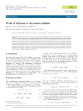 A role of electrons in zirconium oxidation
