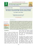 Determination of the geomorphologic parameters of the Thuthapuzha river basin in Central Kerala, India, using GIS and remote sensing