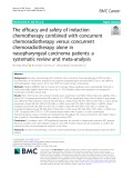 The efficacy and safety of induction chemotherapy combined with concurrent chemoradiotherapy versus concurrent chemoradiotherapy alone in nasopharyngeal carcinoma patients: A systematic review and meta-analysis