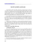 Học thuyết doanh nghiệp - Chương 8: Thuyết lợi thế cạnh tranh