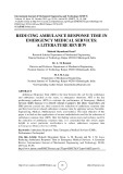 Reducing ambulance response time in emergency medical services: A literature review
