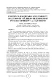 Existence, uniqueness and stability solution of volterra friedholm of integro differential equations
