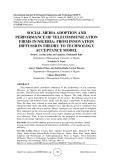 Social media adoption and performance of telecommunication firms in Nigeria: From innovation diffussion theory to technology acceptance model