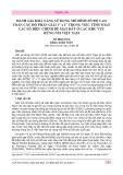 """Đánh giá khả năng sử dụng mô hình số độ cao toàn cầu độ phân giải 1"""" x 1"""" trong việc tính toán các số hiệu chỉnh bề mặt đất ở các khu vực rừng núi Việt Nam"""