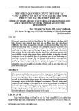 Một số kết quả nghiên cứu về thủy sinh vật vùng cửa sông ven biển Vũng Tàu tới Trà Vinh phục vụ yêu cầu phát triển thủy sản