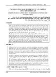 Ứng dụng công nghệ bim trong tư vấn thiết kế công trình thủy lợi