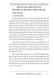 Sáng kiến kinh nghiệm: Một số kinh nghiệm về kỹ năng soạn thảo văn bản trong trường Tiểu học
