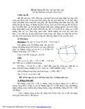 Sáng kiến kinh nghiệm: Hướng dẫn học sinh khai thác một bài tập hình học sách giáo khoa toán 9