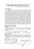 SKKN: Khai thác mối quan hệ giữa hình học không gian và hình học phẳng trong giảng dạy toán ở THPT