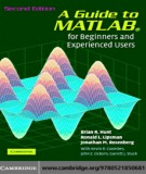 A Guide to MATLAB® for Beginners and Experienced Users: Part 2