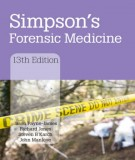 Simpson's forensic medicine (13th Edition): Part 1