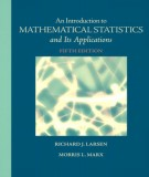 An introduction to mathematical statistics and its applications: Part 1