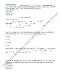 Bài giảng Chuyên đề Vật lý 10 - Chương 7: Chủ đề 1 (Bài tập)