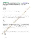 Bài giảng Chuyên đề Vật lý 10 - Chương 7: Chủ đề 5 (Bài tập)