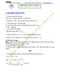 Bài giảng Chuyên đề Vật lý 10 - Chương 7: Chủ đề 1