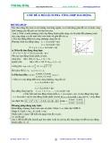 Bài giảng chuyên đề luyện thi đại học Vật lý – Chương 2 (Chủ đề 4): Độ lệch pha - Tổng hợp dao động