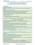 Bài giảng chuyên đề luyện thi đại học Vật lý – Chương 7 (Chủ đề 1): Hiện tượng quang điện