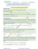 Bài giảng chuyên đề luyện thi đại học Vật lý – Chương 4 (Chủ đề 2): Hiện tượng cộng hưởng