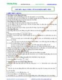 Bài giảng chuyên đề luyện thi đại học Vật lý – Chương 2 (Chủ đề 1): Đại cương về dao động điều hòa