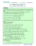 Bài giảng chuyên đề luyện thi đại học Vật lý – Chương 2 (Chủ đề 3): Con lắc đơn