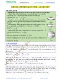 Bài giảng chuyên đề luyện thi đại học Vật lý – Chương 1 (Chủ đề 2): Momen quán tính - Momen lực