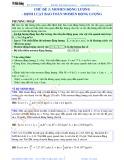 Bài giảng chuyên đề luyện thi đại học Vật lý – Chương 1 (Chủ đề 3): Momen động lượng - Định luật bảo toàn động lượng