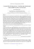 Tài nguyên văn hóa di sản – Cơ sở dữ liệu cho ngành công nghiệp văn hóa tại Việt Nam