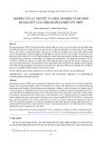 Nghiên cứu lý thuyết và thực nghiệm về mô men kháng nứt của dầm geopolymer cốt thép
