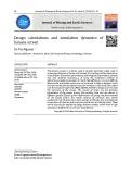 Tính toán thiết kế và mô phỏng động lực học của máy sàng rung cong