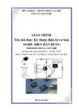 Giáo trình Kỹ thuật điện tử cơ bản - Nghề: Điện dân dụng - Trình độ: Trung cấp nghề (Tổng cục Dạy nghề)