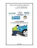 Giáo trình Các phương pháp chuẩn bị bề mặt - Nghề: Công nghệ sửa chữa khung, thân vỏ ô tô - CĐ Nghề Công Nghiệp Hà Nội