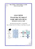 Giáo trình Kỹ thuật số - Nghề: Điện dân dụng - Trình độ: Cao đẳng nghề (Tổng cục Dạy nghề)