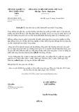 Công văn số 8032/BNN-TCTL