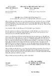 Công văn số 6277/TCHQ-TXNK