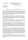 Công văn số 10536/BTC-NSNN