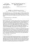 Công văn số 5525/TCHQ-GSQL