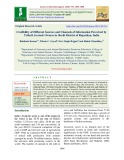 Credibility of different sources and channels of information perceived by tribal livestock owners in Sirohi district of Rajasthan, India