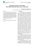 Quan hệ ngữ đoạn - liên tưởng ứng dụng trong việc dạy và học tiếng Anh