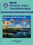 Nghiên cứu các yếu tố tác động đến giá trị khách hàng cảm nhận của một số chuỗi cửa hàng tiện ích trên địa bàn thành phố Hà Nội