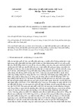 Nghị quyết số 121/2019/NQ-CP