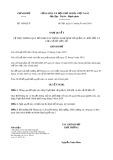 Nghị quyết số 18/2019/NQ-CP