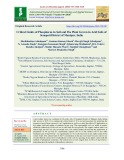 Critical limits of phosphorus in soil and pea plant grown in acid soils of Senapati district of Manipur, India