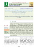 Utilization pattern and credibility upon different information sources by the NFSM beneficiaries and non-beneficiaries farmers in northern hills agro-climatic zone of Chhattisgarh