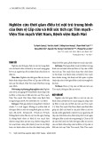 Nghiên cứu thời gian điều trị nội trú trung bình của Đơn vị Cấp cứu và Hồi sức tích cực Tim mạch - Viện Tim mạch Việt Nam, Bệnh viện Bạch Mai