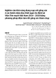 Nghiên cứu khả năng dung nạp với gắng sức ở các bệnh nhân đau thắt ngực ổn định tại Viện Tim mạch Việt Nam 2014 - 2018 bằng phương pháp điện tâm đồ gắng sức thảm chạy